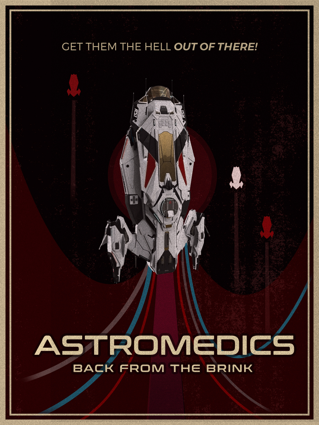 Poster of the Apollo, Astromedics, back from the Brink