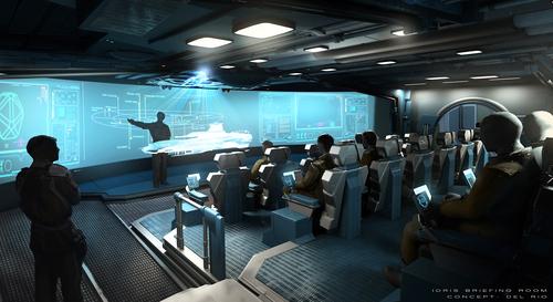 Concept - Idris Briefing Room