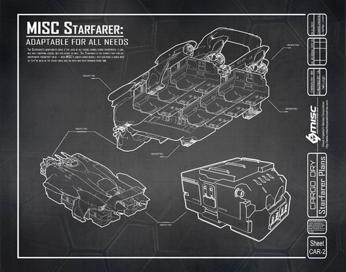 Concept Art - Crate transport blueprint