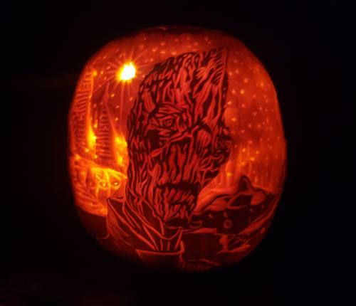 2019 Pumpkin Carving Contest Winner by HelmetHitter