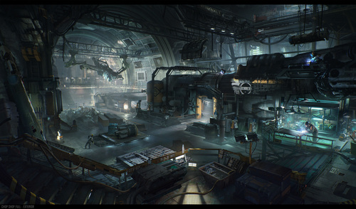 Squadron 42 concept art, the