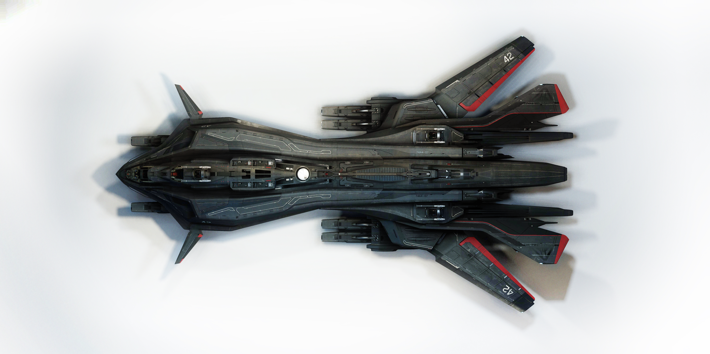 Aegis Dynamics Retaliator  Retaliator-Top_v2