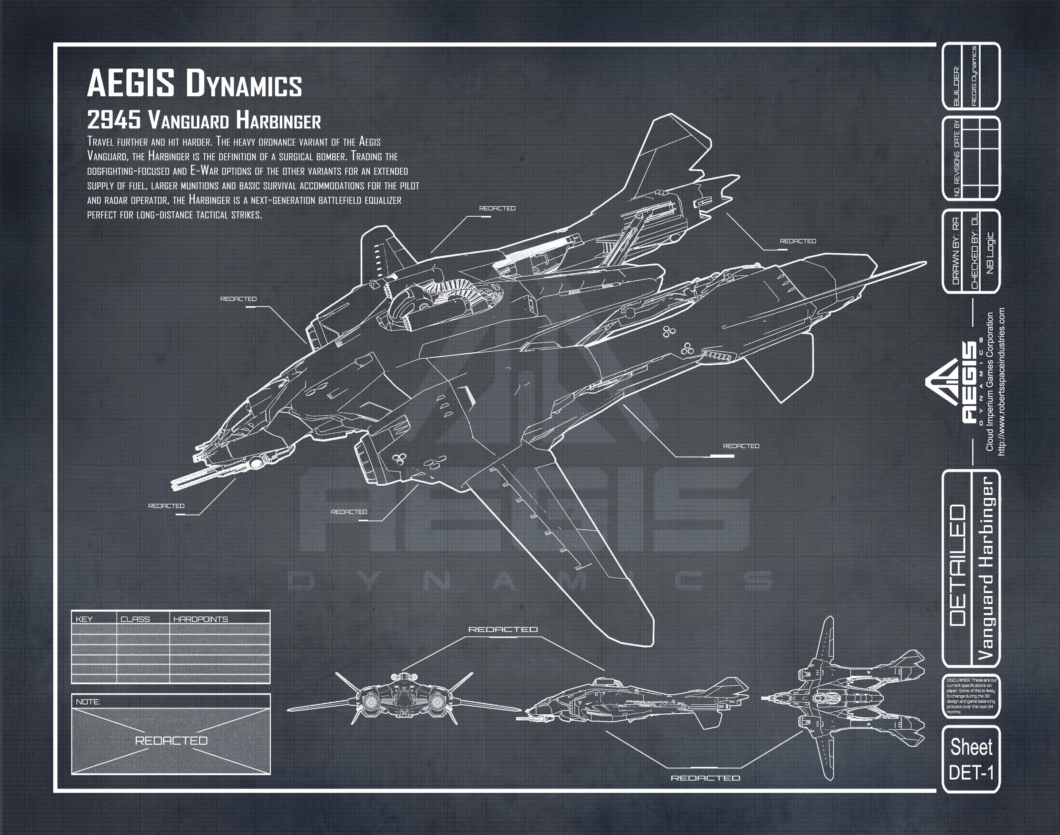 Aegis Dynamics Vanguard series Vanguard-Harbinger_p1b