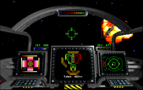 Privateer was Chris Roberts' first game to feature shield management.