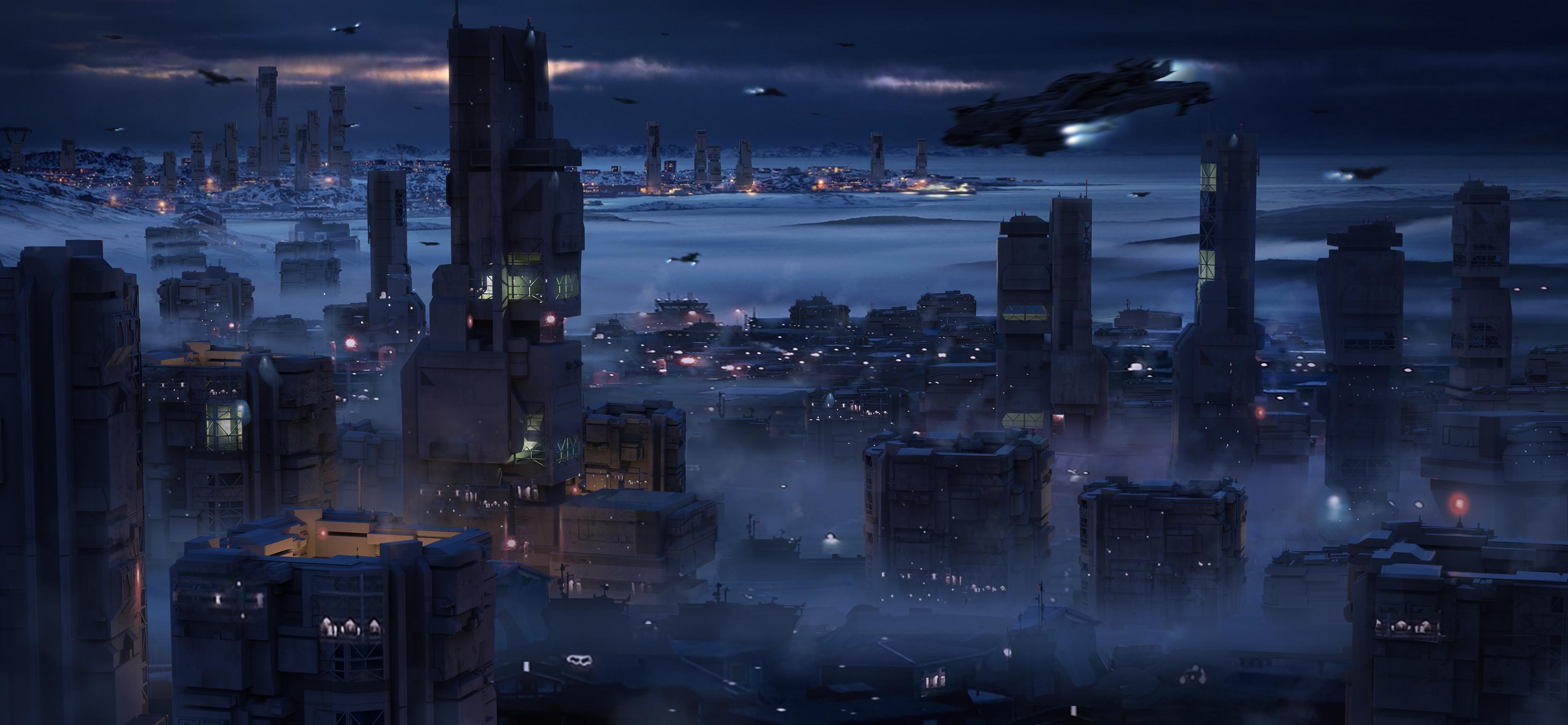 Ergo floating city
