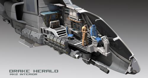 Herald internal design