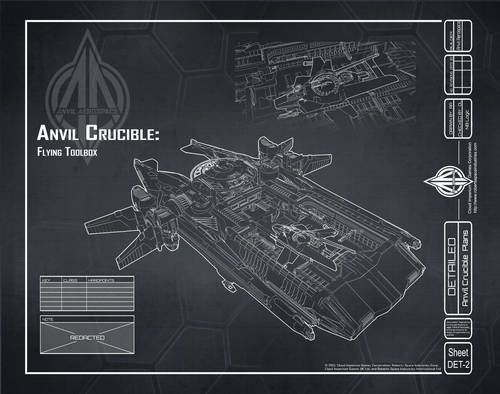 One of Ryan's Star Citizen blueprints