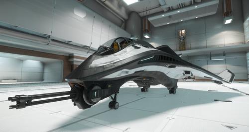 Avenger in Hangar
