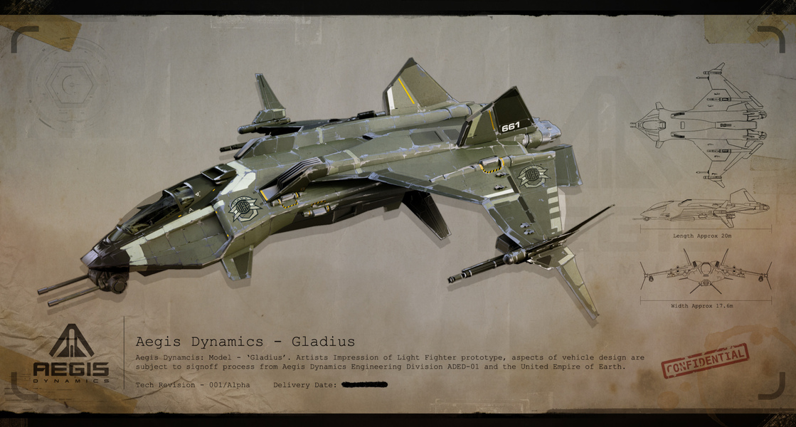 star citizen  - Page 7 Gladius_Front