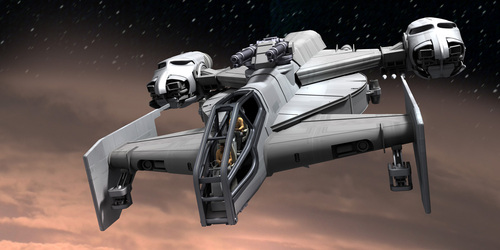 Original Concept Art: Drake Cutlass