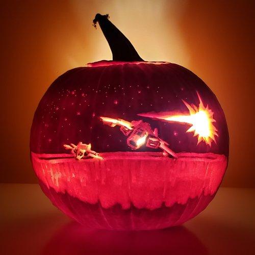 2019 Pumpkin Carving Contest Entry by DeigenMustard