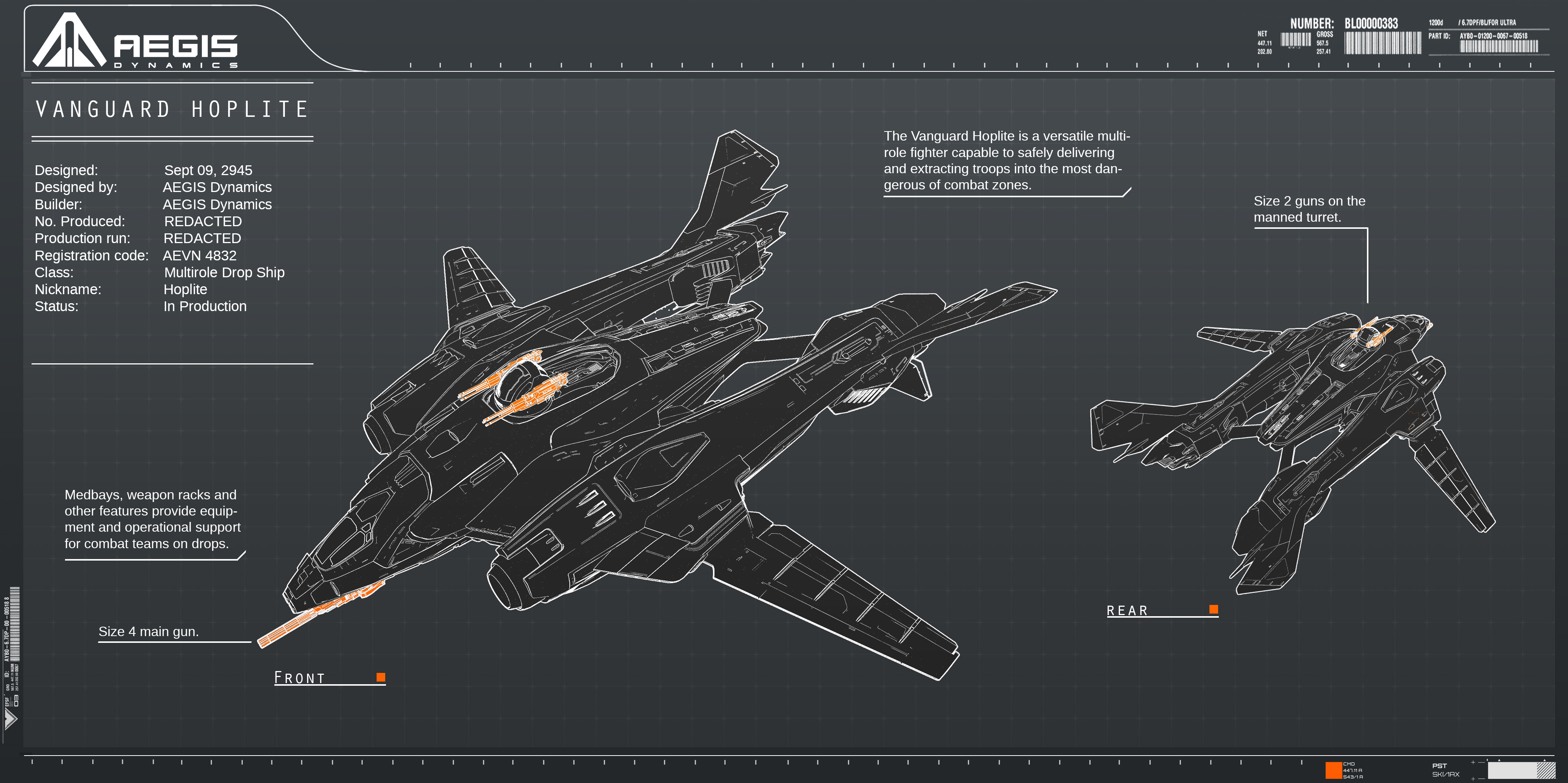 Aegis Dynamics Vanguard series Aegis-Vanguard-Hoplite-V2-P2