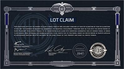 Q & A Reclamación / Licencias de terrenos Certificate_LOT_4x4