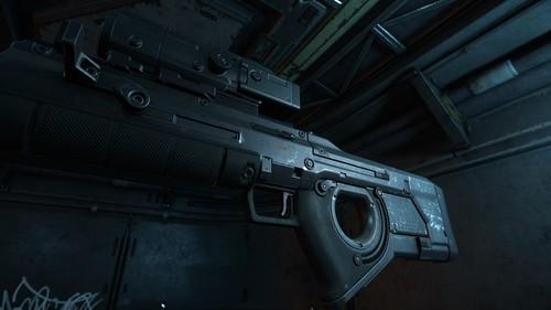 Klaus & Werner Sniper Rifle Aged Closeup