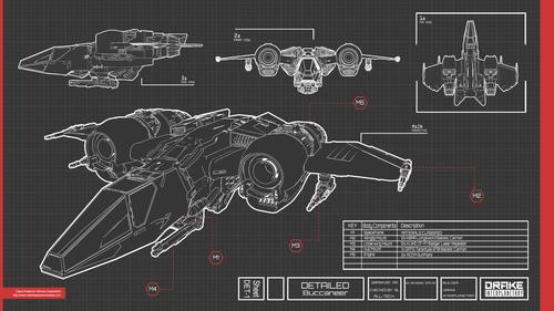 Drake Buccaneer - Concept Art