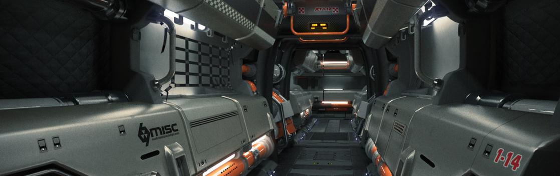 MISC Starfarer Corridor