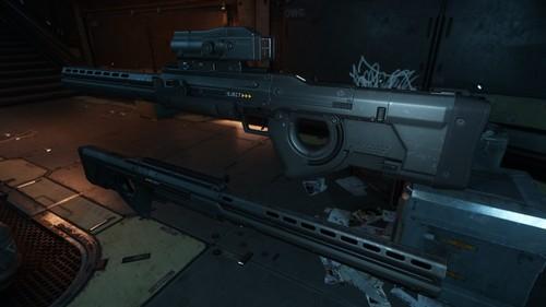 Klaus & Werner Sniper Rifle Aged