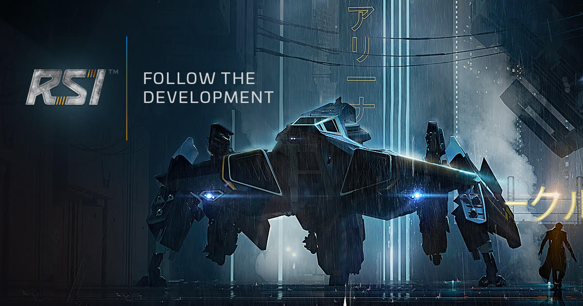 Roberts Space Industries Follow The Development Of Star Citizen And Squadron